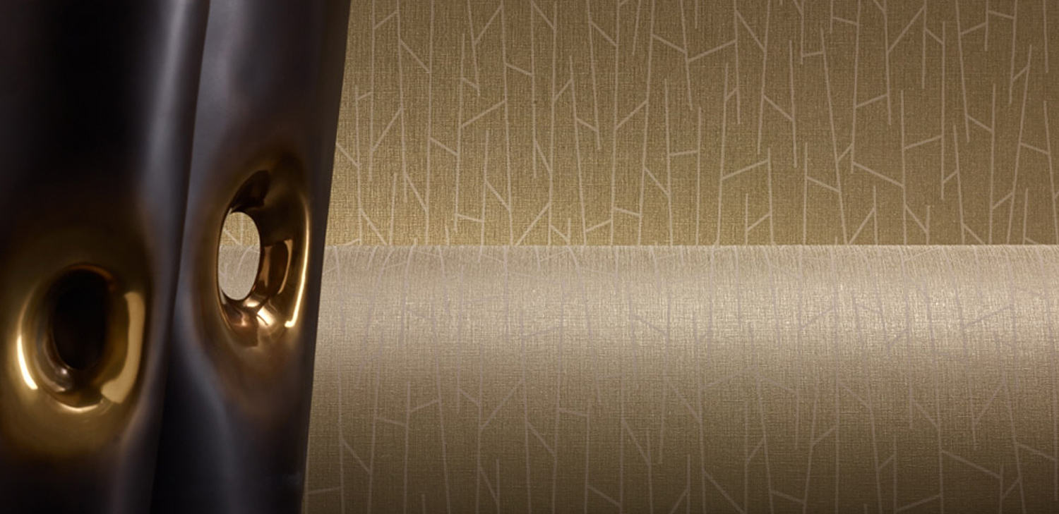 Izzy Wallcovering from LEVEY Commercial and Architectural Finishes
