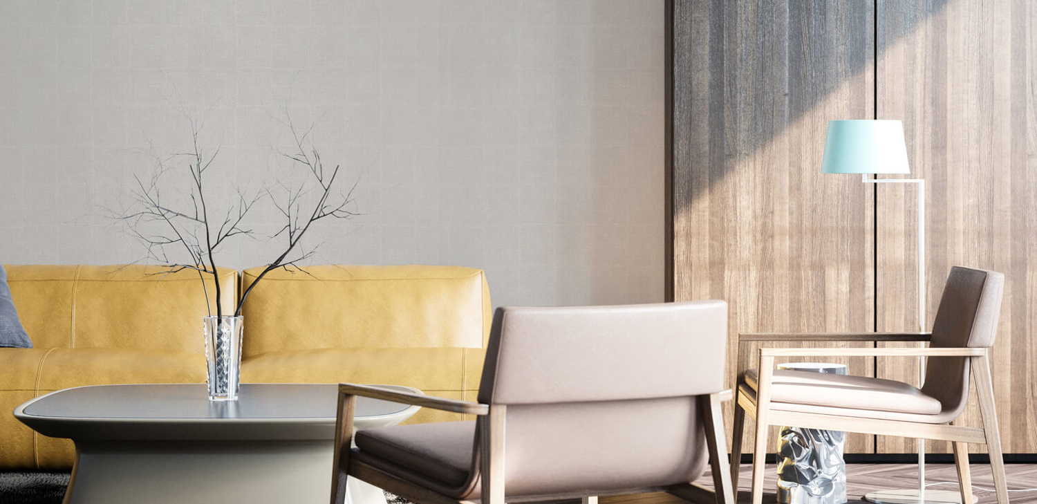 Novelio Almond Wallcovering from LEVEY Commercial and Architectural Finishes