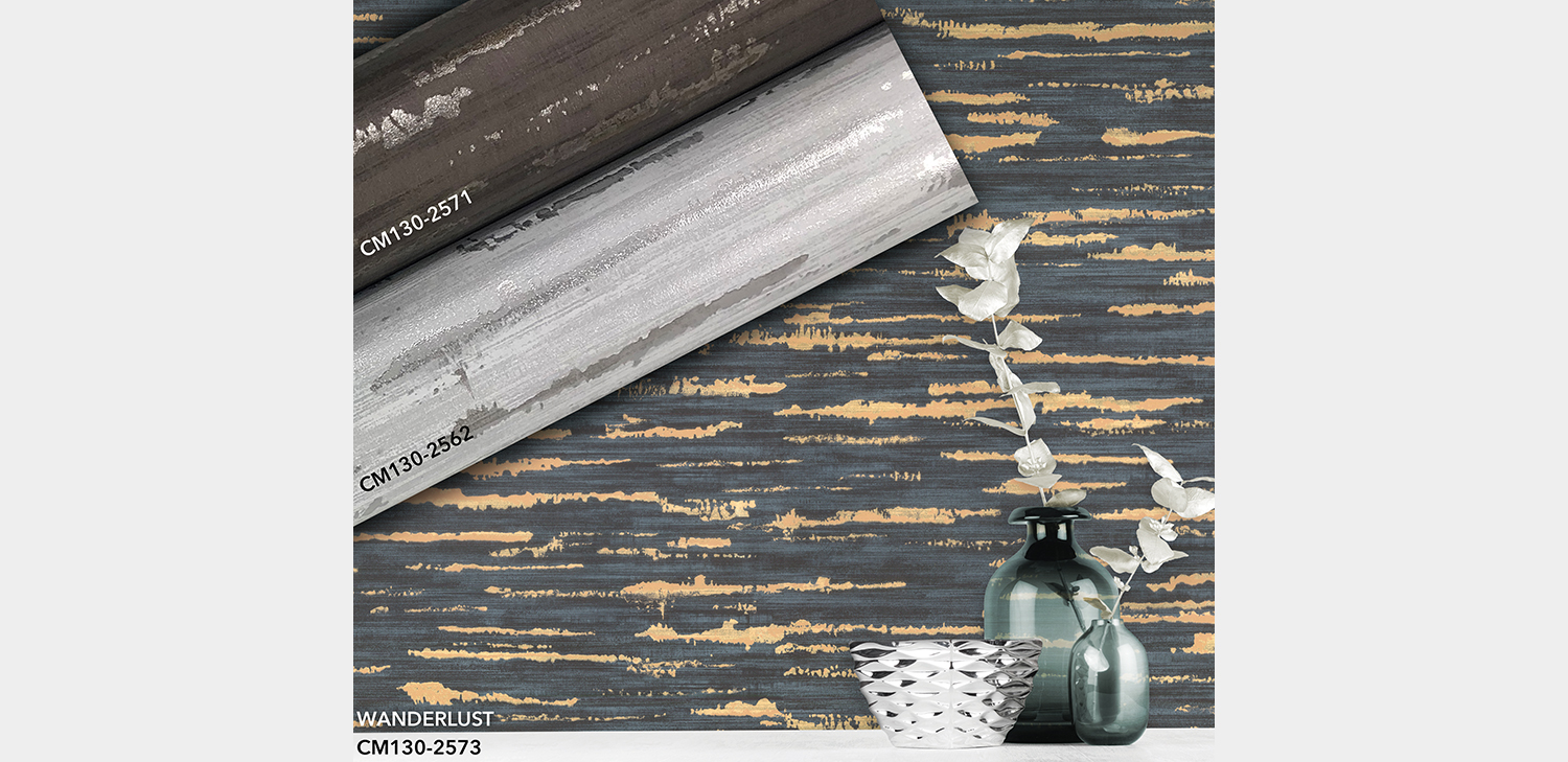 Wanderlust Wallcovering from LEVEY Commercial and Architectural Finishes
