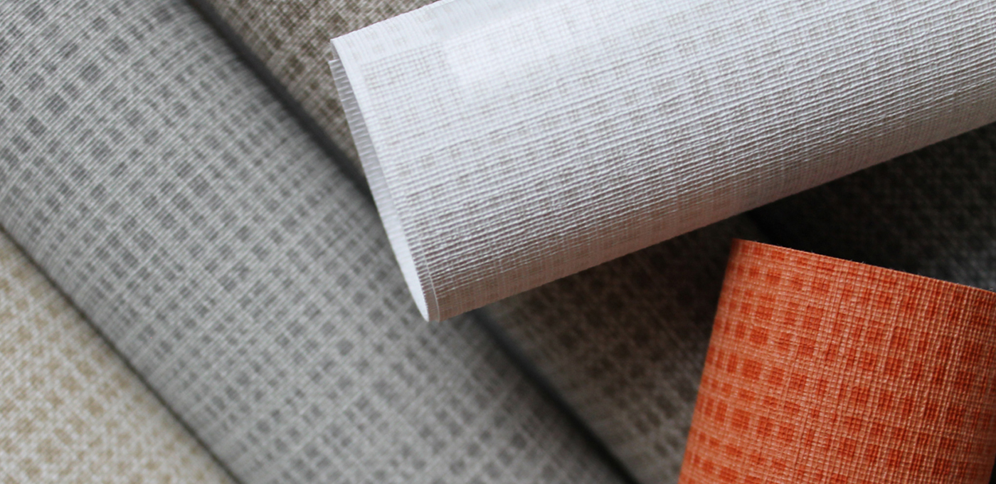 Weft Wallcovering from LEVEY Commercial and Architectural Finishes