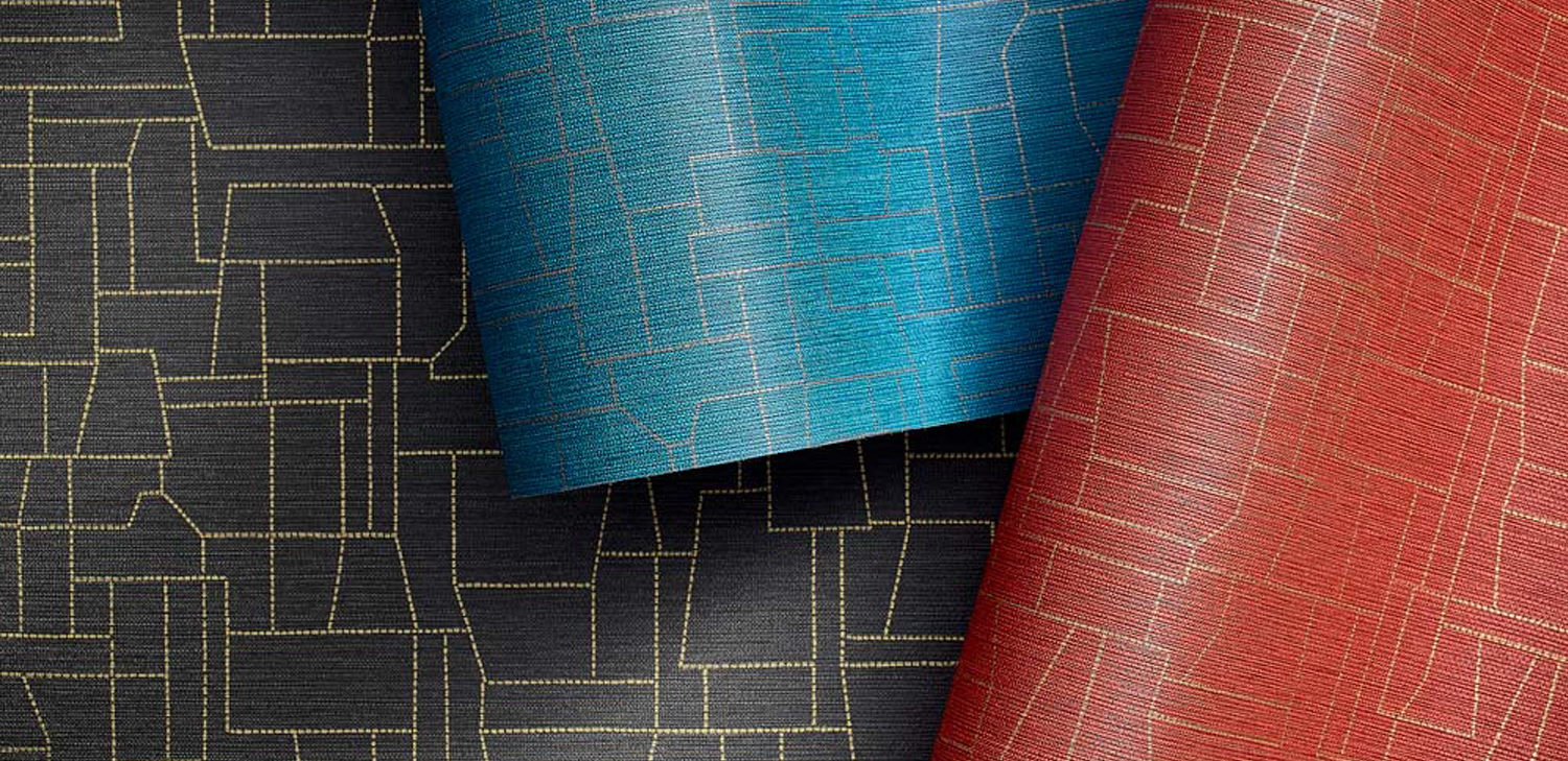 Zeteo Wallcovering from LEVEY Commercial and Architectural Finishes