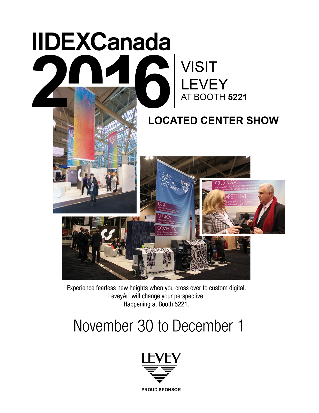 IIDEX Announcement 2016, Levey Industries