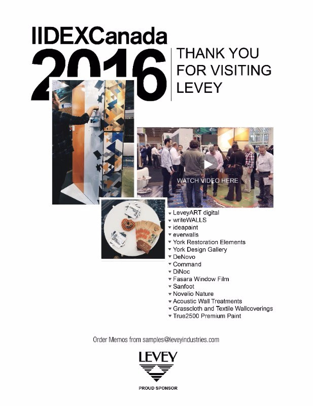 Thank You for Visiting LEVEY at IIDEX 2016