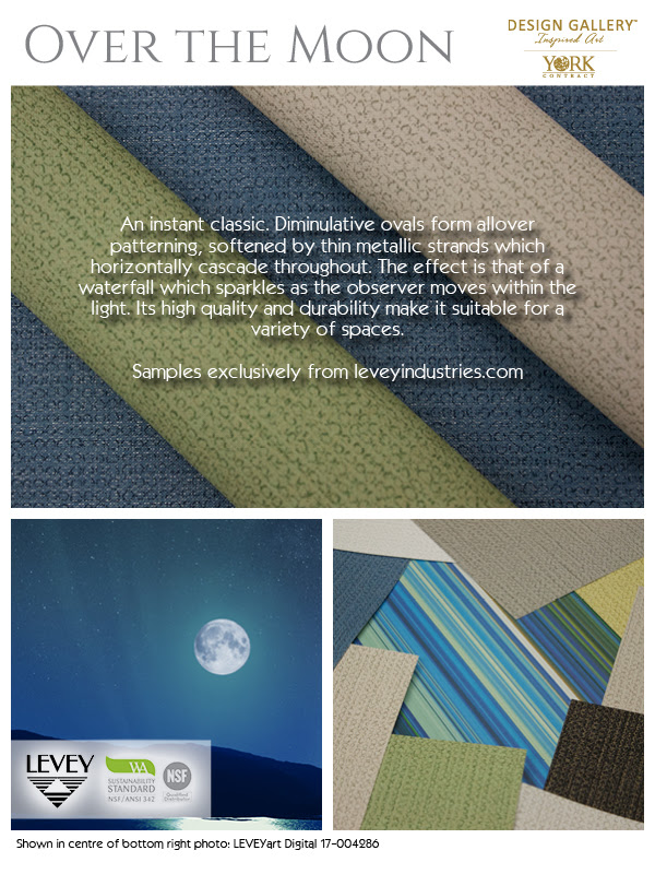 Over The Moon Wallcovering, LEVEY