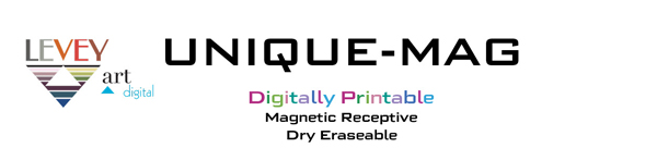 UNIQUE-MAG Digitally Printable, Dry Erase Wallcovering, WriteWalls Canada, Levey Industries