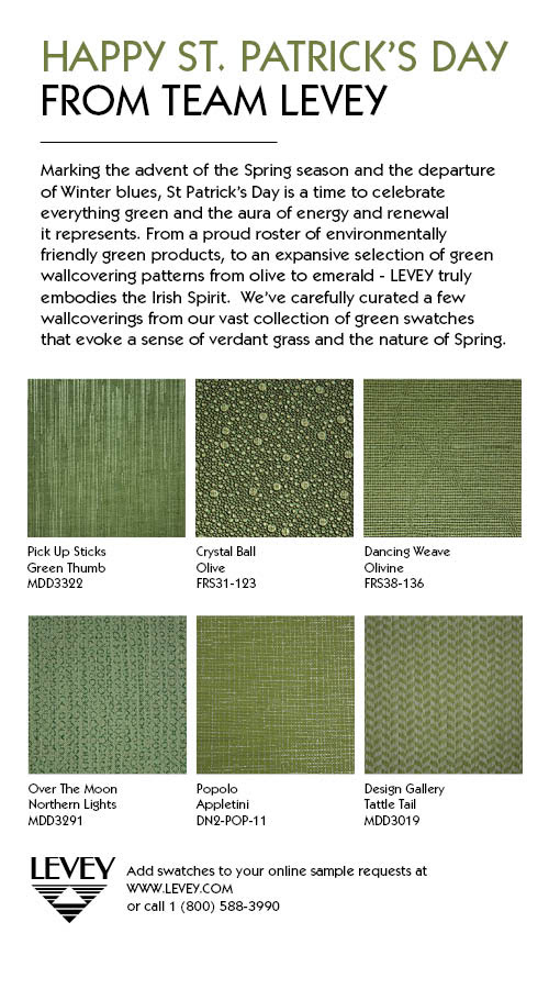 Artech Wallcovering from LEVEY Wallcoverings and Architectural Finishes