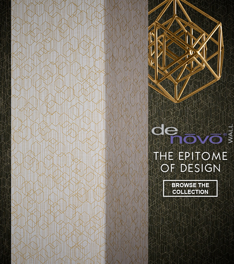 DeNovo Wallcoverings, Epitome of Design, from LEVEY Wallcovervings and Architectural Finishes