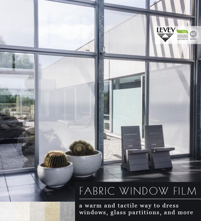 Fabric Window Film, LEVEY Commercial and Architectural Finishes