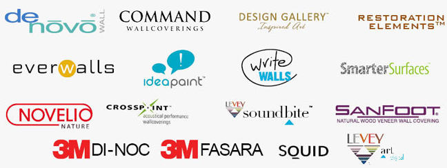 LEVEY Commercial Wallcoverings and Architectural Finishes, Product List