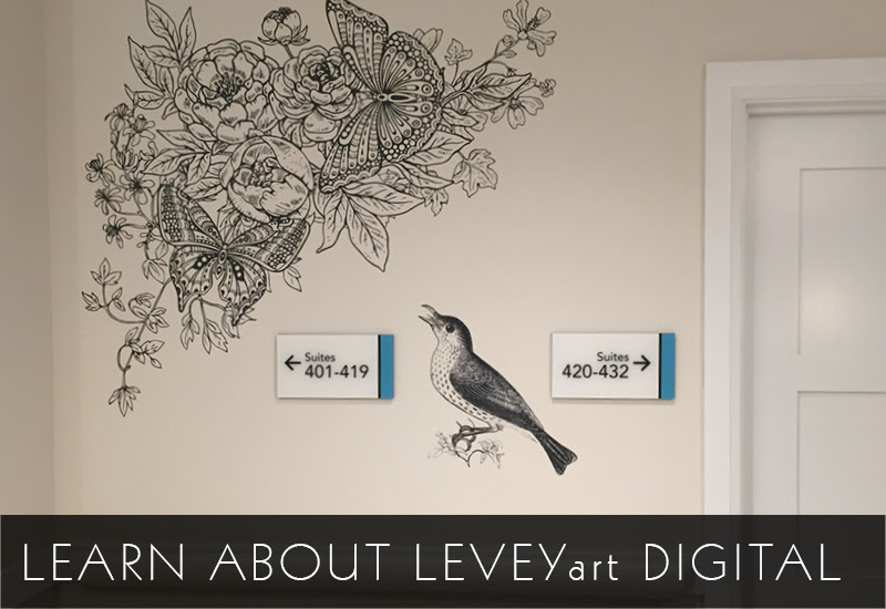 LeveyArt Digital Wallcovering, LEVEY Commercial and Architectural Finishes