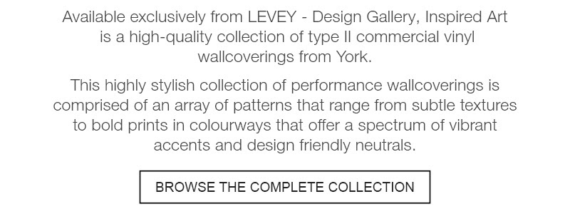 Browse York Contract Design Gallery Wallcoverings, from LEVEY Wallcovervings and Architectural Finishes