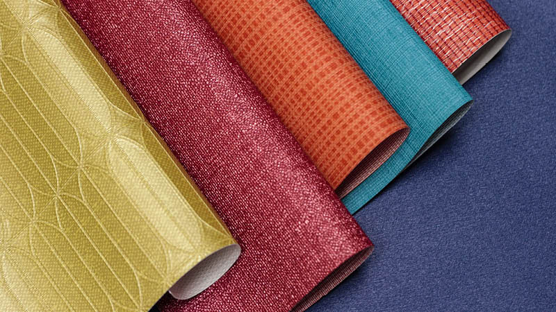 Bright Colours Wallcovering from LEVEY, Commercial Wallcovering