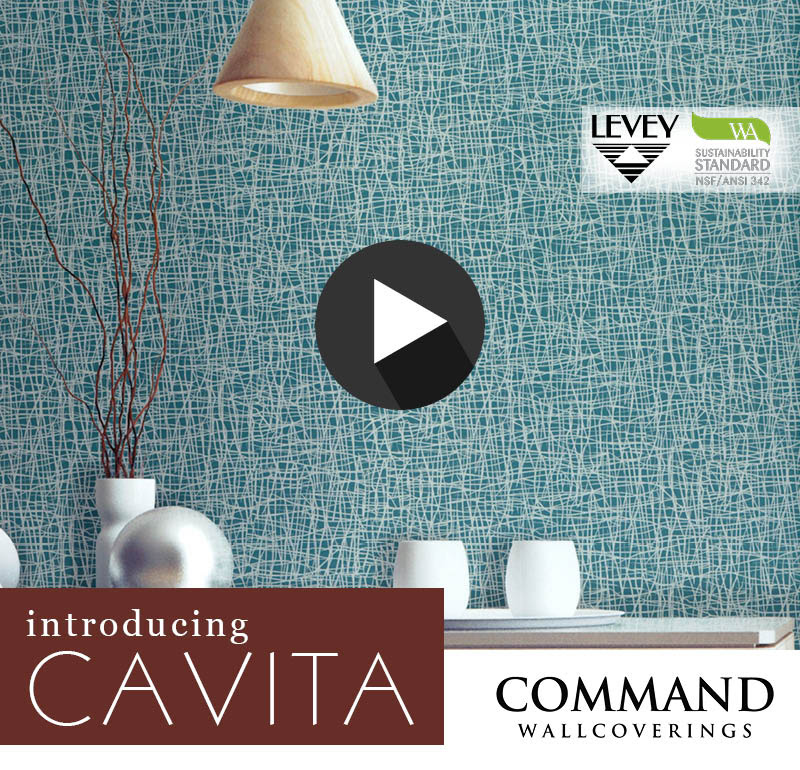 NEW! Cavita Wallcovering from Command