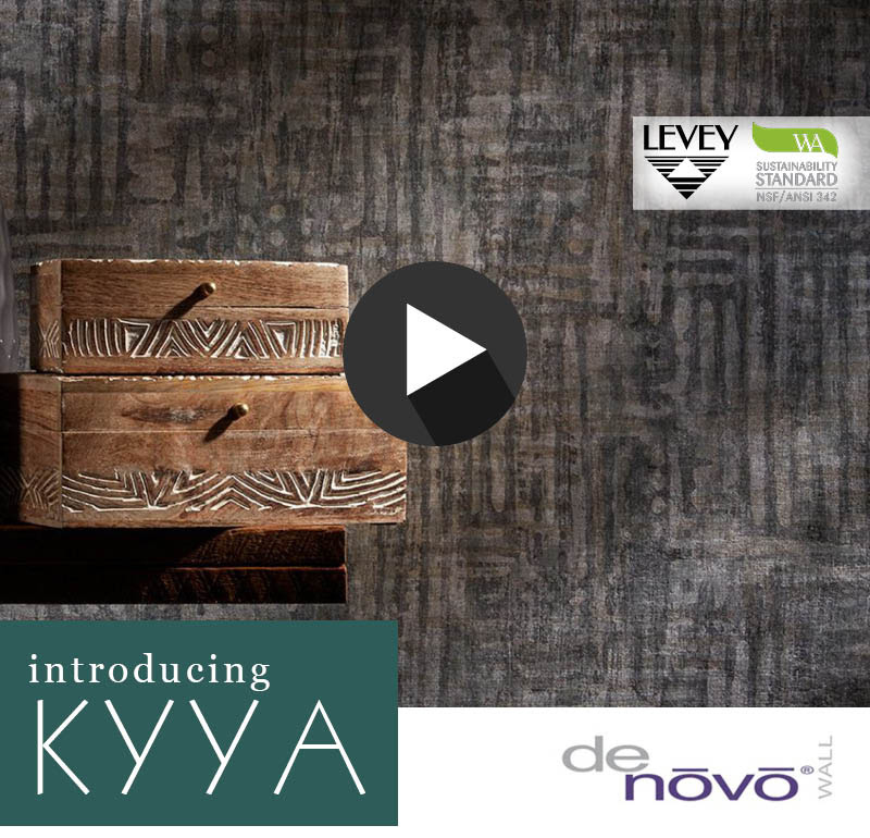 NEW! Kyla Wallcovering from DeNovo Wall