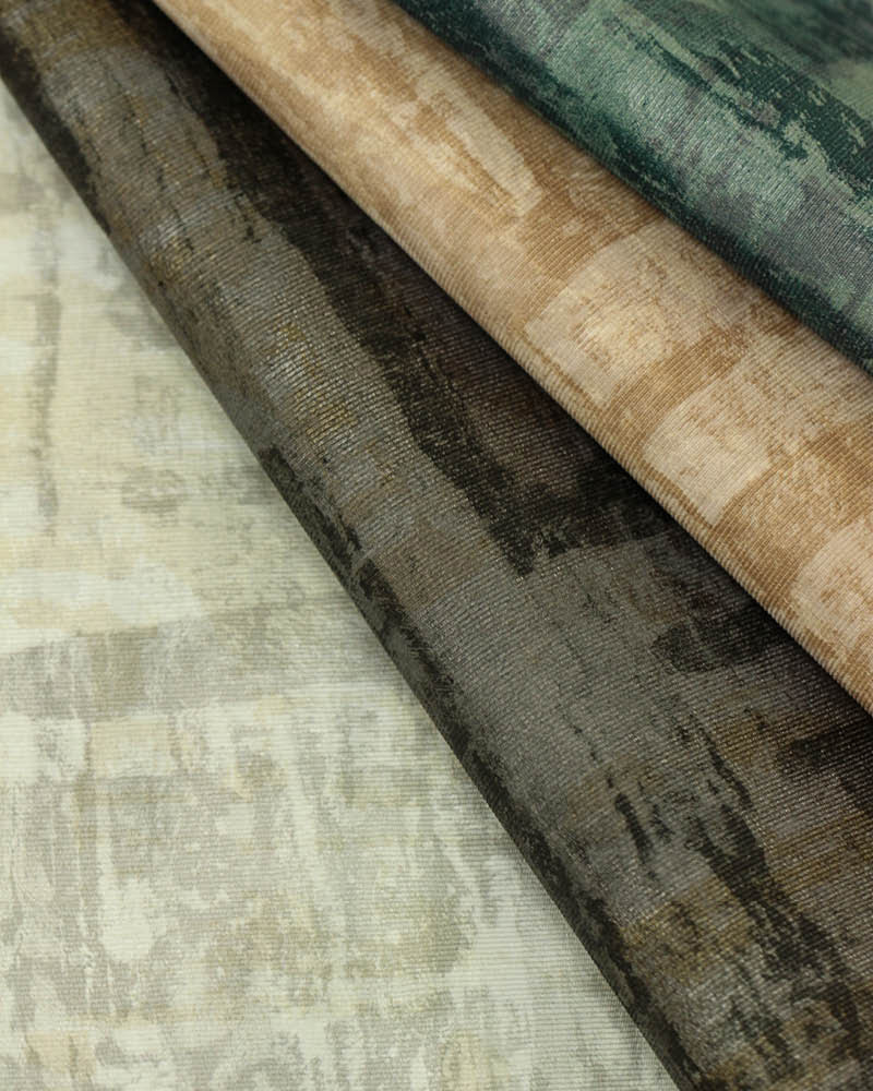 Kyya Wallcovering, available in a versatile palette of 18 colourways