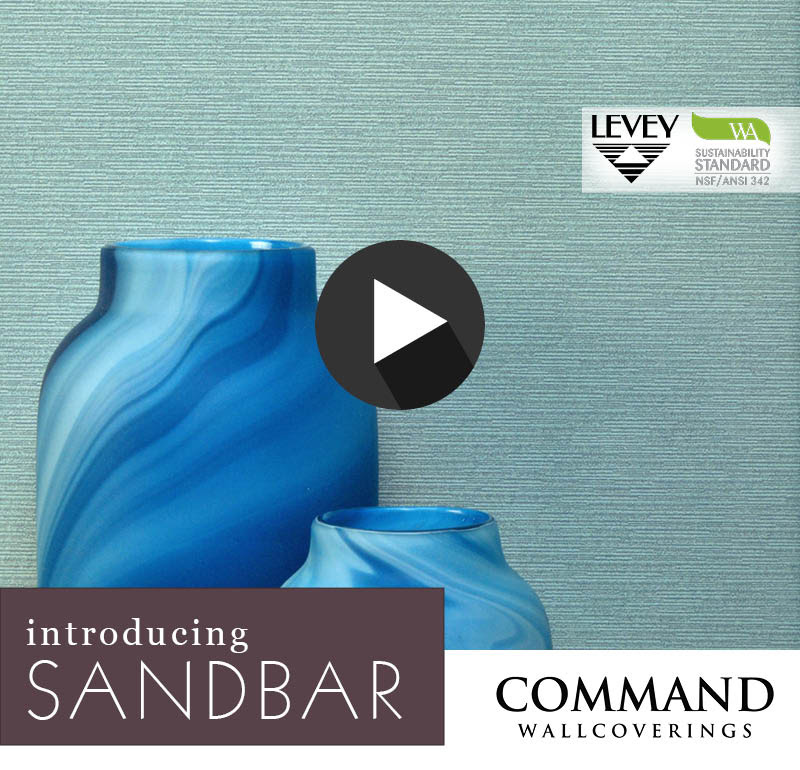 NEW! Sandbar Wallcovering from Command