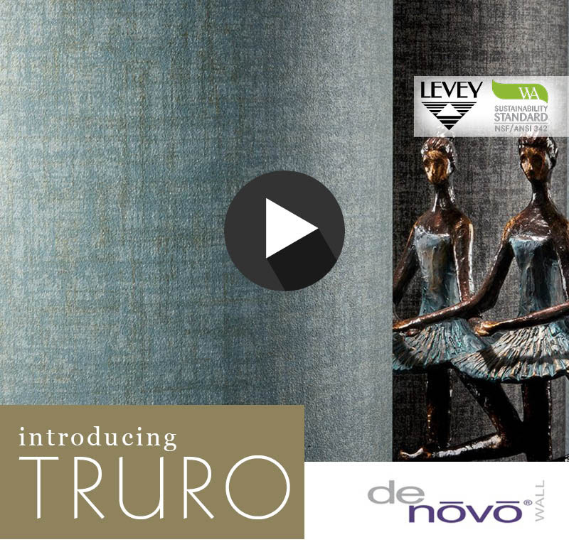 NEW! Truro Wallcovering from DeNovo Wall