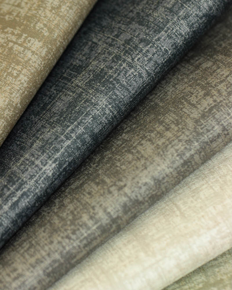 Truro Wallcovering, available in a versatile palette of 18 colourways