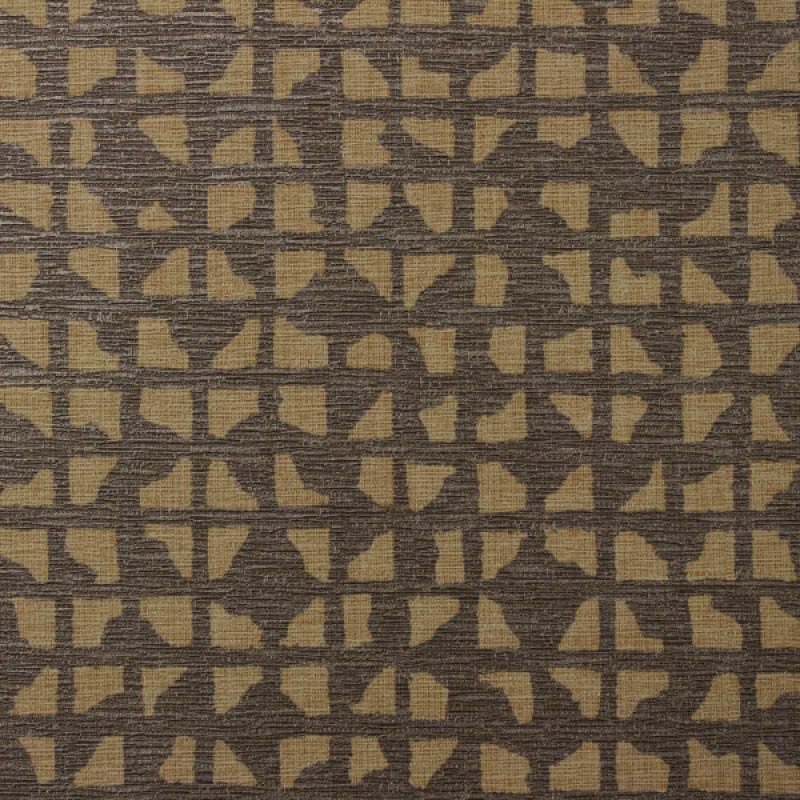 Brown The Printery Commercial Vinyl Wallcovering from LEVEY