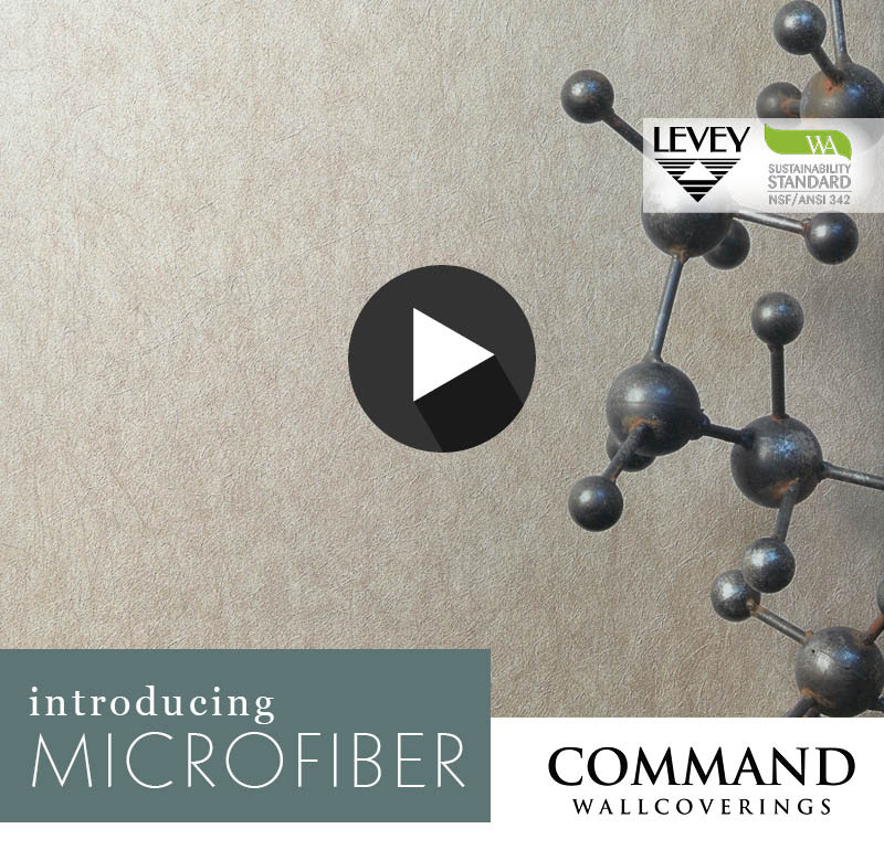 NEW! Microfiber Wallcovering from Command