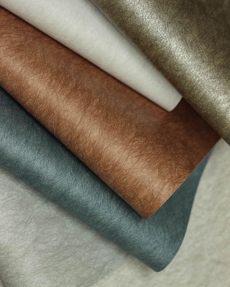 Microfiber Wallcovering, brought to you in a palette of 18 colour variations