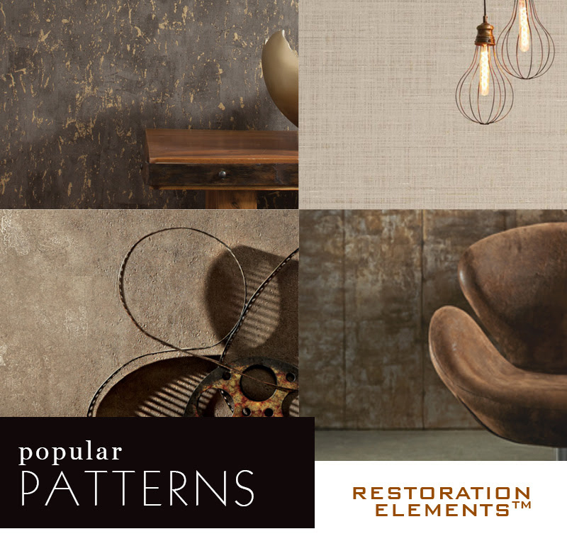 Restoration Elements Wallcovering