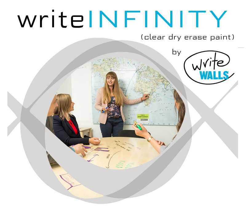 WriteInfinity Dry Erase Paint from WriteWalls