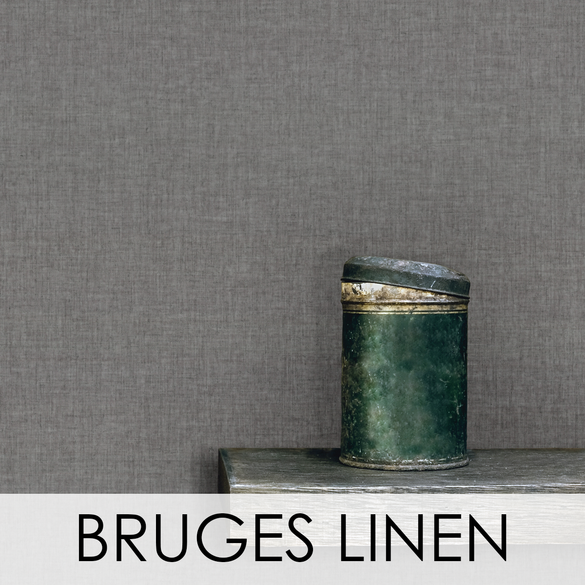 Bruges Linen Wallcovering from LEVEY