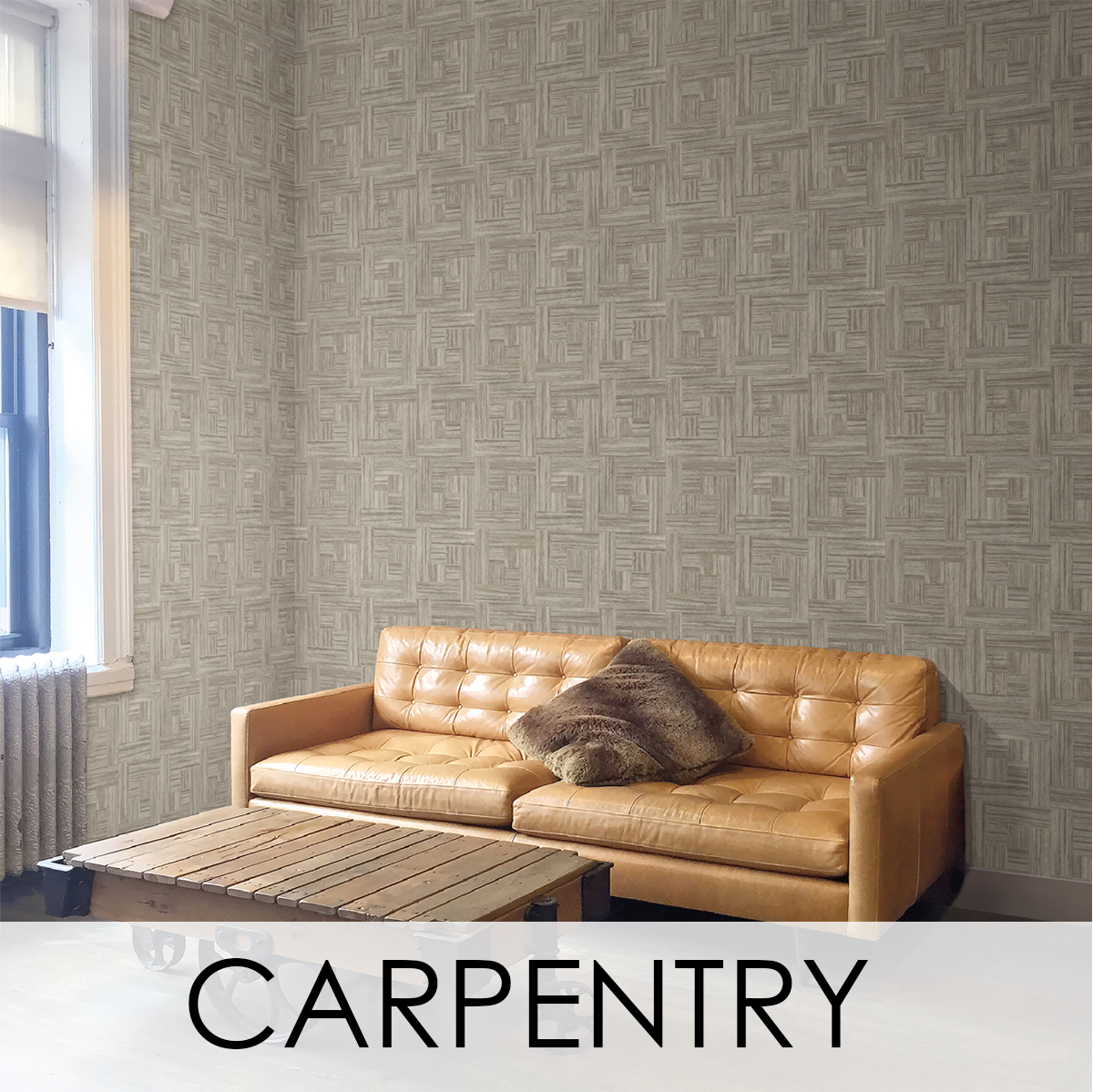 Carpenty Wallcovering from LEVEY