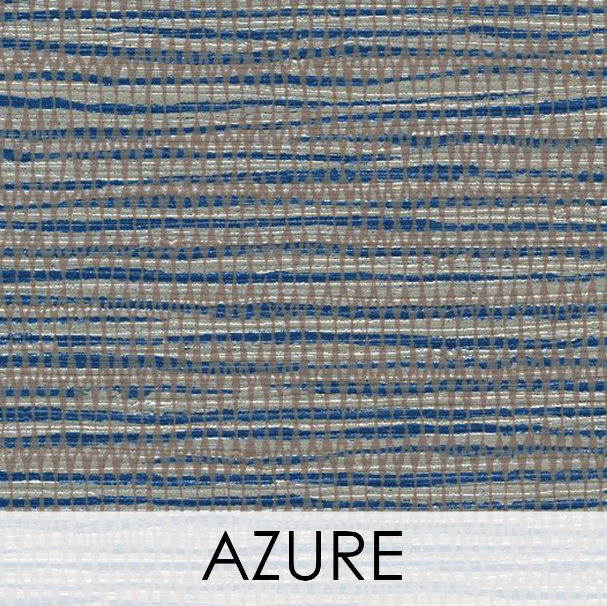Fiji Wallcovering, Colour: Azure
