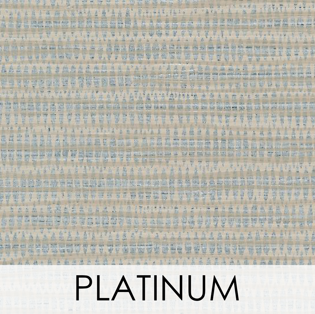 Fiji Wallcovering, Colour: Platinum