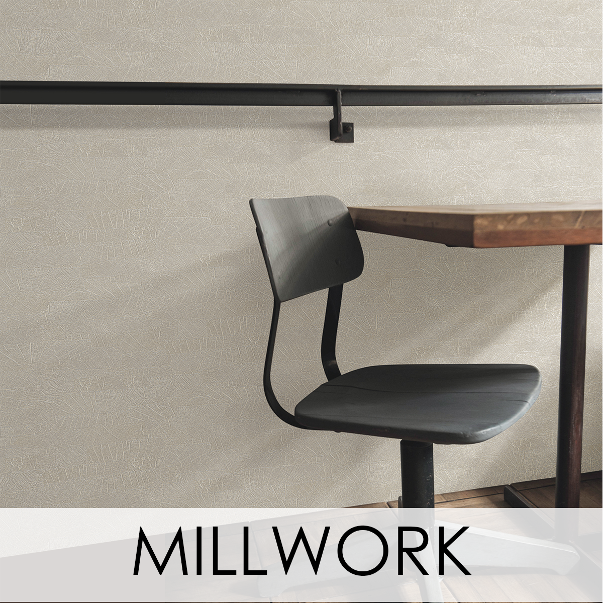 Millwork Wallcovering from LEVEY