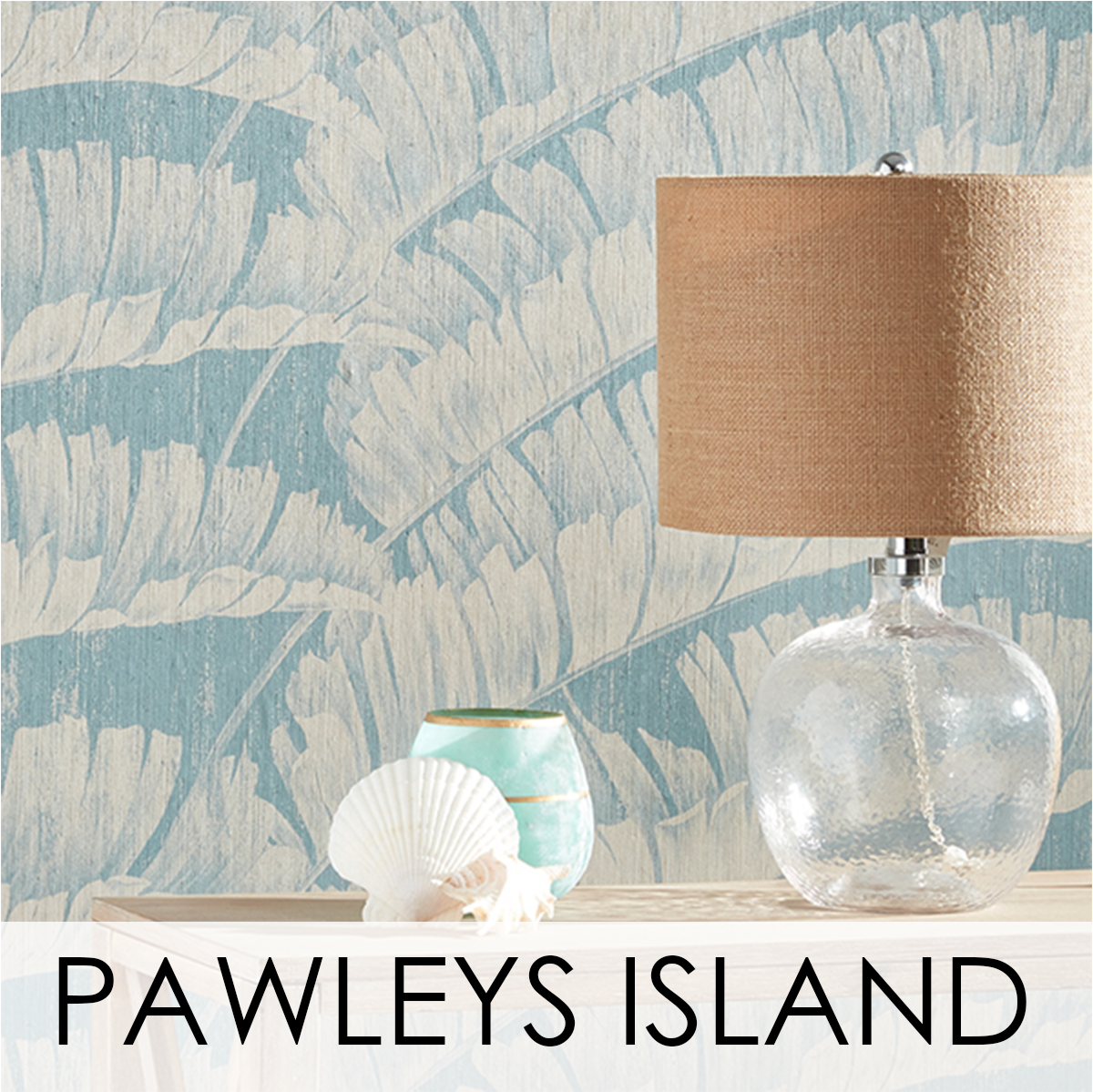 Pawley's Island Wallcovering from LEVEY