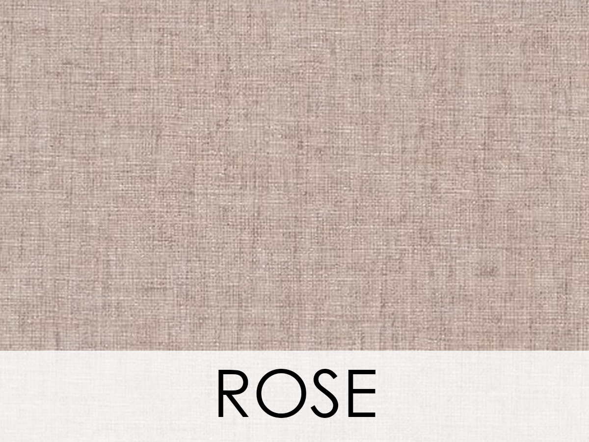 Bruges Linen Wallcovering, Colour: Rose