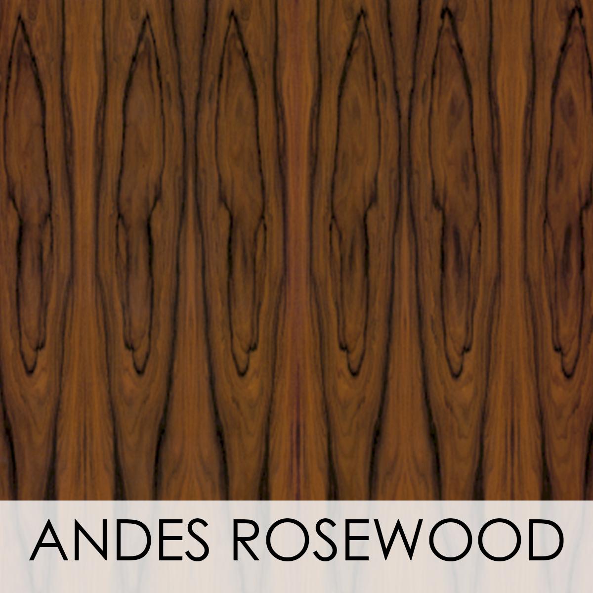 Andes Rosewood Wood Veneer Wallcovering
