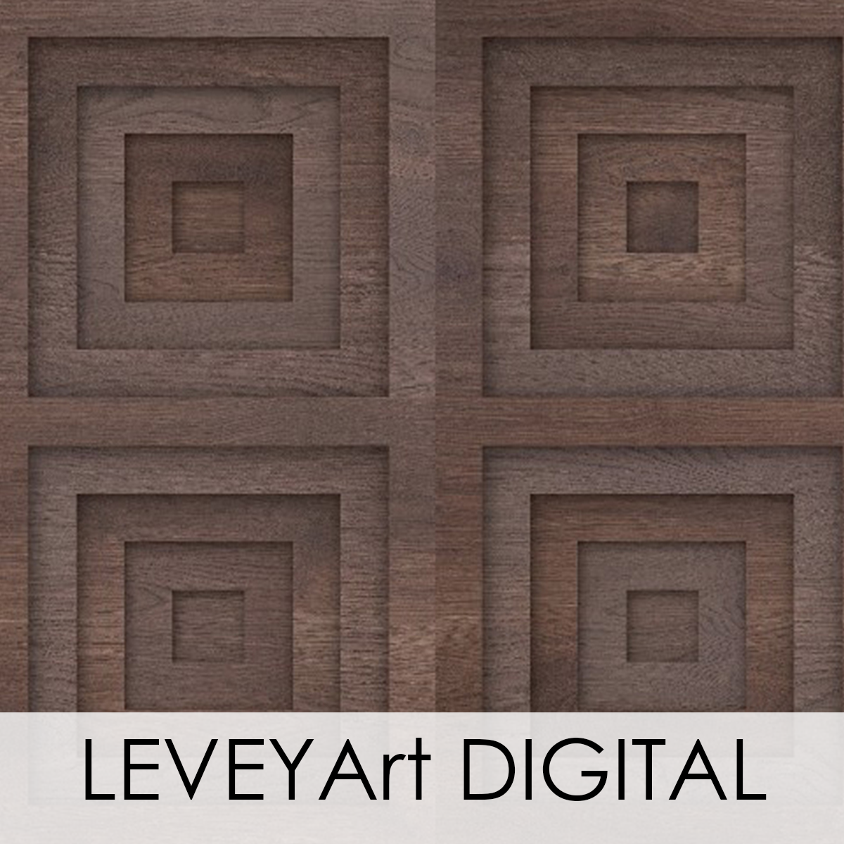 Digital Wood Grain Wallcovering