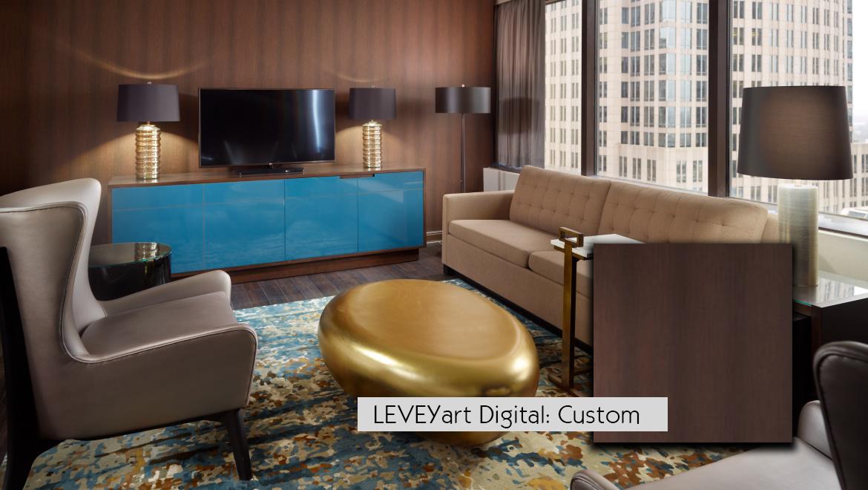 LeveyArt Custom Digital Wallcovering
