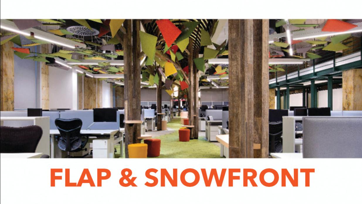 SNOWSOUND Flap Snowfront