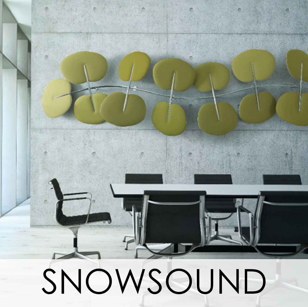 Snowsound Acoustical Wallcovering, LEVEY Wallcoverings