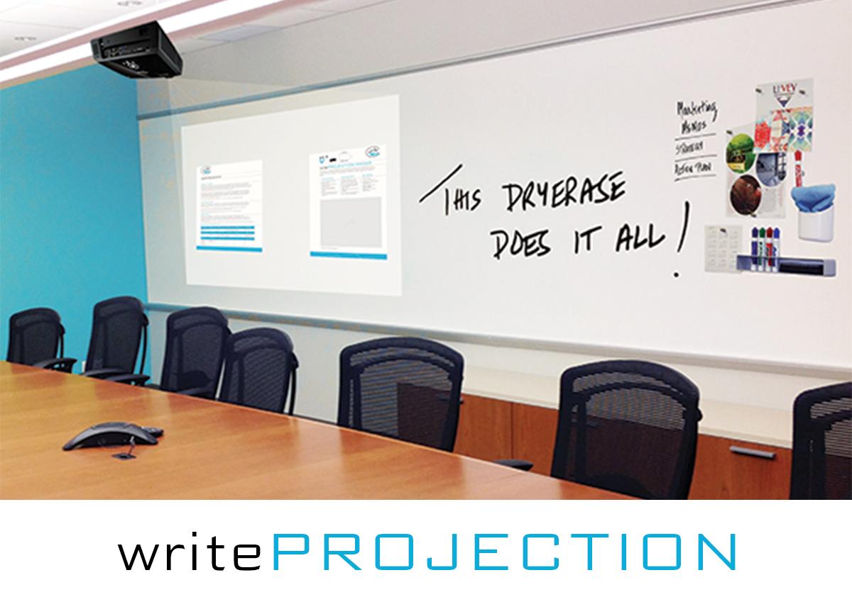 WriteWalls WriteProjection Dry Erase, LEVEY Wallcovering