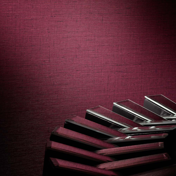 Burgundy Wallcovering, Elise Commercial Vinyl Wallcovering from Levey