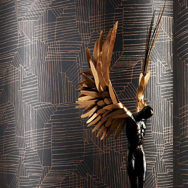 Inner Realm Wallcovering by DeNovo