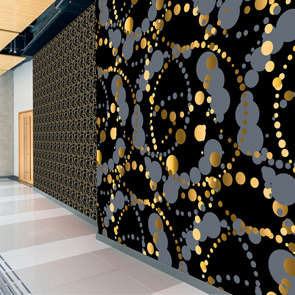 Kaleidoscope Custom Wallcovering by LeveyArt Digital