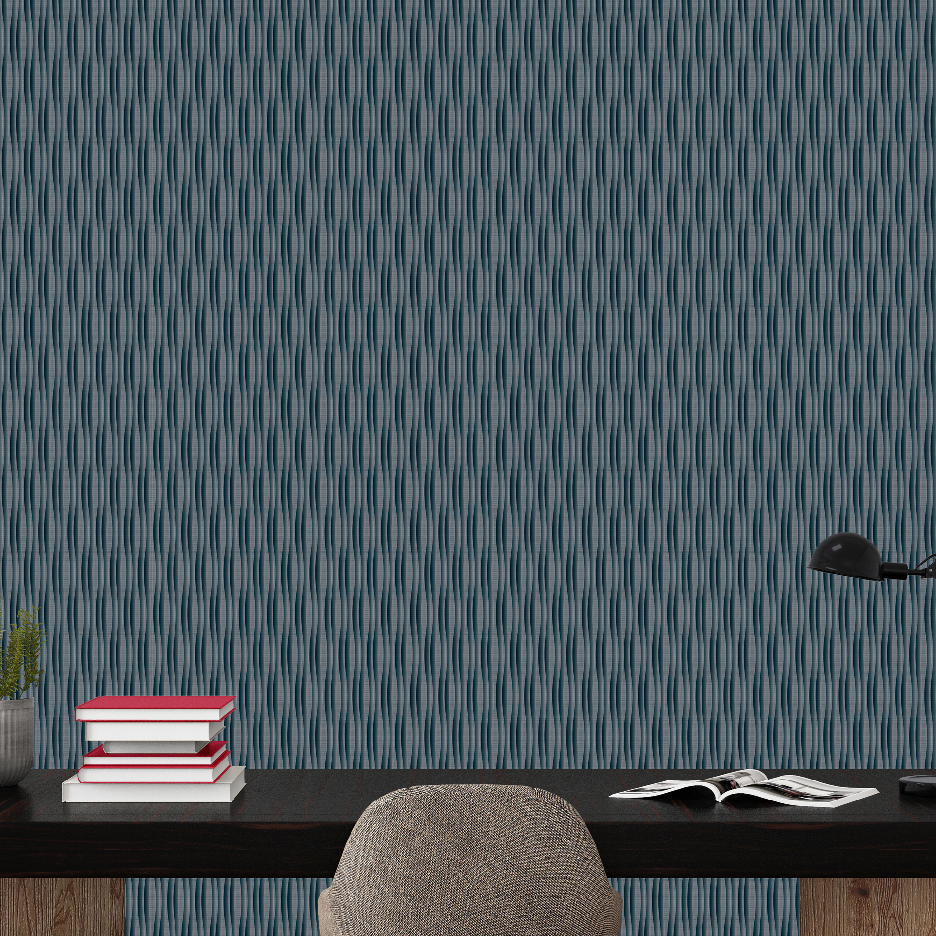 Laureate Custom Wallcovering by LeveyArt Digital