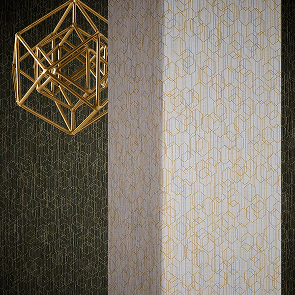 Rubix Wallcovering by DeNovo Wall