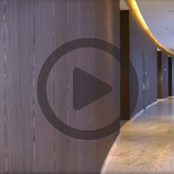 SanFoot Wood Veneer Wallcovering video